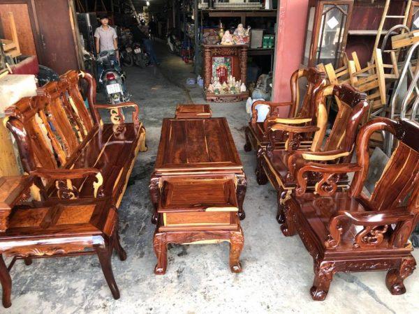 Bàn ghế gỗ cẩm Lai