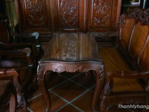 Thanh lý bàn ghế gỗ xưa phòng khách - Thanh lý bàn ghế gỗ xưa phòng khách
