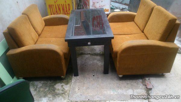 Thanh lý bàn ghế sofa cam - Thanh lý bàn ghế sofa cam