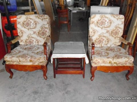 Thanh lý bàn ghế sofa nệm tiếp khách