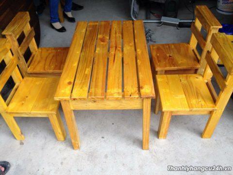 bàn ghế cafe giá rẻ tại Bình Dương