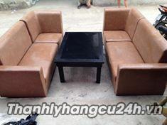bàn ghế sofa thanh lý tại TPHCM