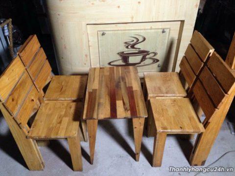 bàn ghế cafe cũ