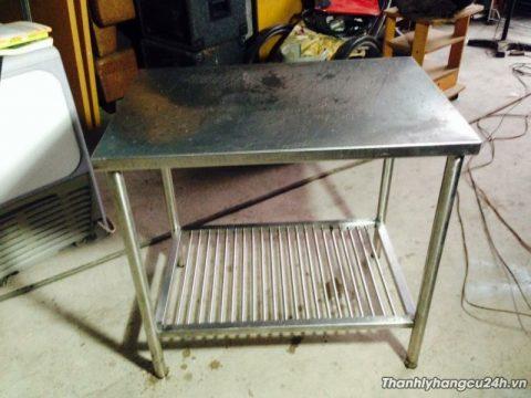 bàn bếp inox 304