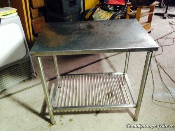 thanh lý bàn bếp nhỏ ion 304 - thanh lý bàn bếp nhỏ ion 304