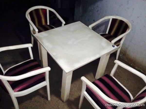 Thanh lý bàn ghế kiểu tại TP HCM
