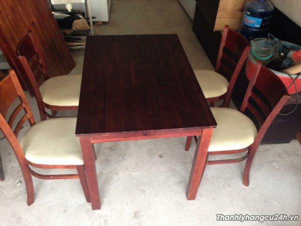 Mua bán bàn ghế cũ nhà hàng