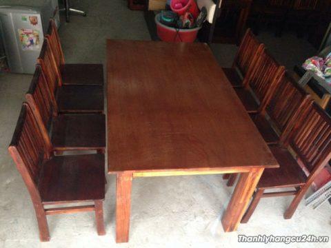 thanh lý bàn ghế nhà hàng cũ