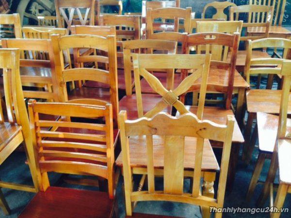 Thanh lý ghế bàn ăn gia đình và nhà hàng