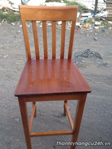 Thanh lý ghế bar gỗ