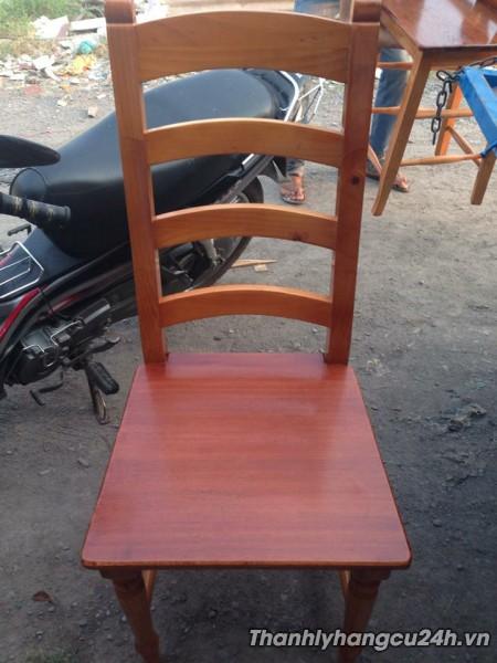 Thanh lý ghế gỗ nhà hàng phòng lạnh