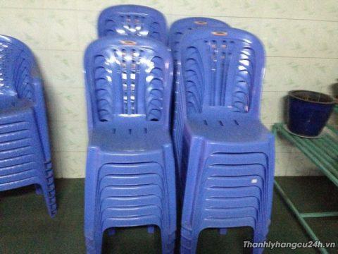 Thanh lý ghế nhựa duy tân