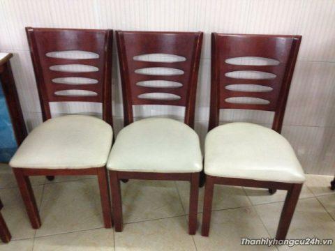 ghế nệm bàn ăn phòng VIP