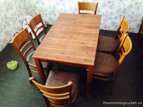 Thanh lý bộ bàn ăn nhà hàng