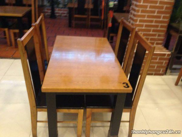 Thanh lý bàn ghế mới giá rẻ - Thanh lý bàn ghế mới giá rẻ