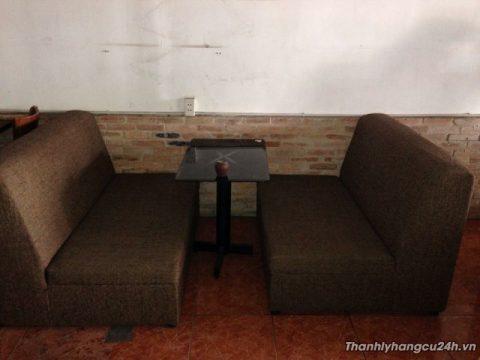 Thanh lý ghế sofa vải bố