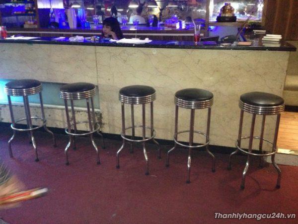 Thanh lý ghế bar đôn inox - Thanh lý ghế bar đôn inox