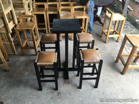 Thanh lý bàn ghế bar 0619 - Thanh lý bàn ghế bar 0619