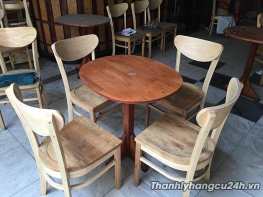 Bàn ghế nhà hàng thanh lý giá rẻ - Bàn ghế nhà hàng thanh lý giá rẻ
