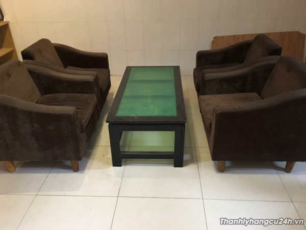 Thanh lý bàn ghế sofa 0666 - Thanh lý bàn ghế sofa 0666