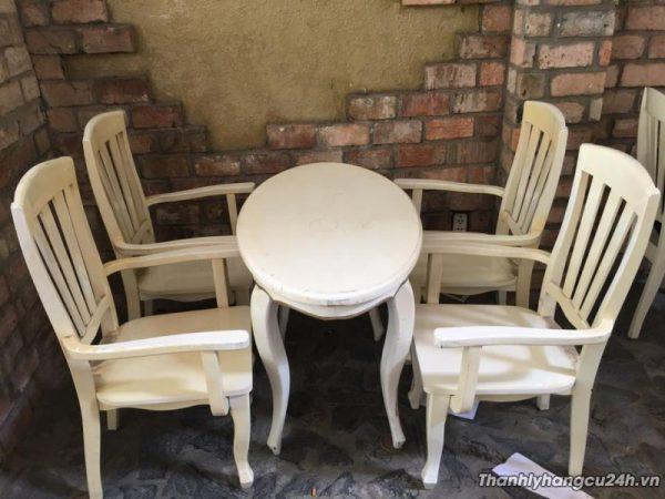 Thanh lý bàn ghế nhà hàng 0693 - Thanh lý bàn ghế nhà hàng 0693