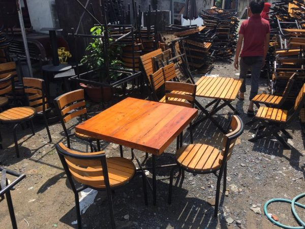 Bàn ghế cafe ngoài trời  thanh lý - Bàn ghế cafe ngoài trời  thanh lý