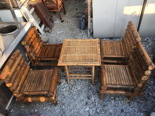 Thanh lý bàn ghế tre - Thanh lý bàn ghế tre