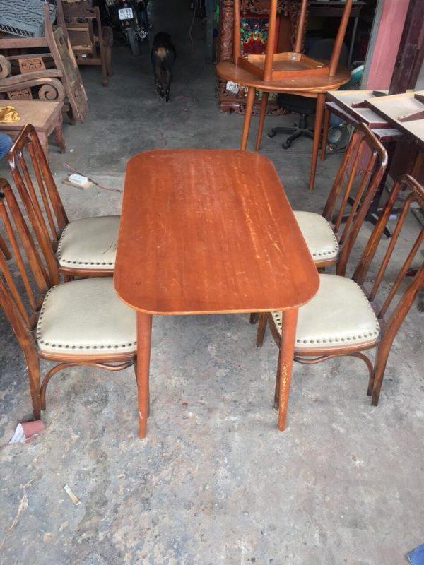 Bàn ghế gỗ cafe thanh lý - Bàn ghế gỗ cafe thanh lý