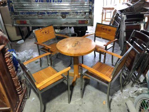 Bàn ghế cafe mẫu mới thanh lý - Bàn ghế cafe mẫu mới thanh lý