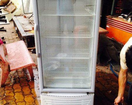 Thanh lý tủ mát sanyo SBC-287K mới 90%