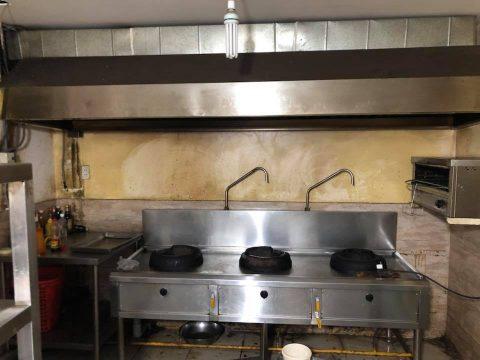 bếp inox 304 nhà hàng