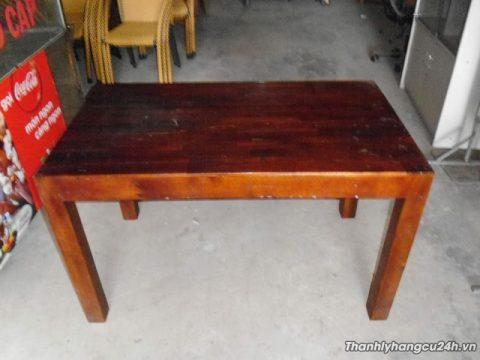 bàn gỗ nhà hàng