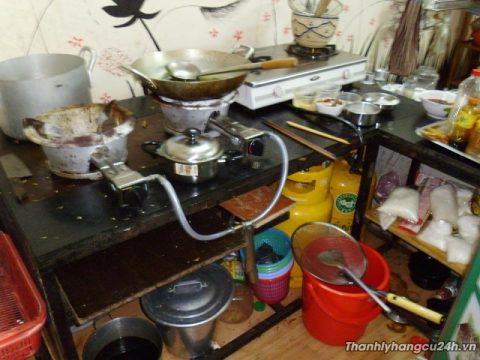 Thanh lý bếp khò nhà hàng - Thanh lý bếp khò nhà hàng