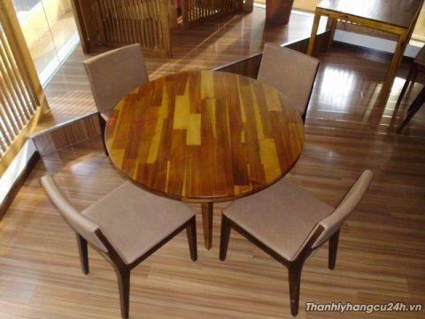bàn ăn tròn 4 ghế