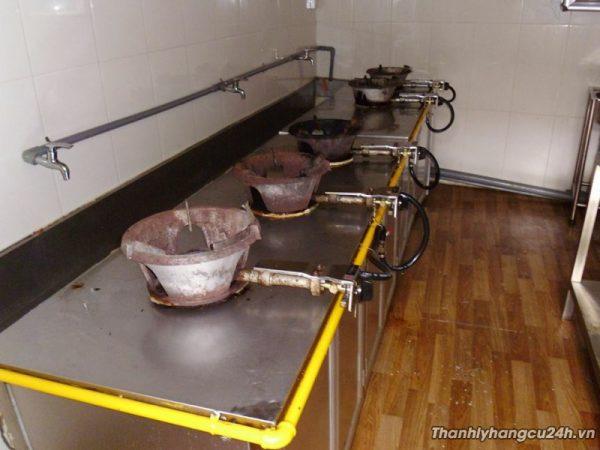 Thanh lý bếp khè nấu ăn nhà hàng 5 bếp