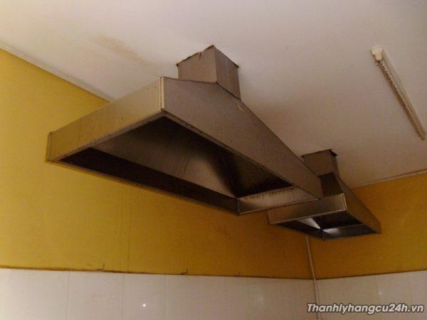 Máng hút khói bếp nhà hàng