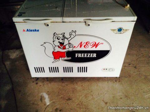 thanh lý tủ đông mát alaska 0348