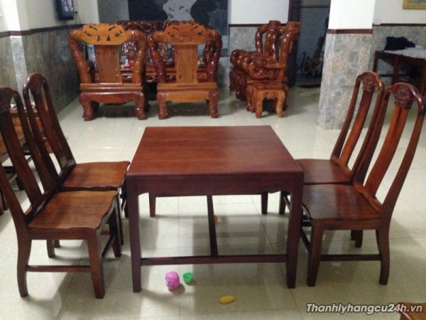 Mua bán bàn ghế gỗ nhà hàng cao cấp