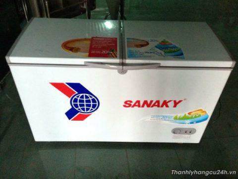 thanh lý tủ đông sanaky vh-2899w1 mới 95%