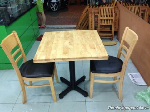 bộ bàn ăn hai ghế