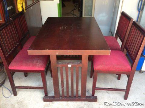 Thanh lý bộ bàn ghế nhà hàng 0507 - Thanh lý bộ bàn ghế nhà hàng 0507