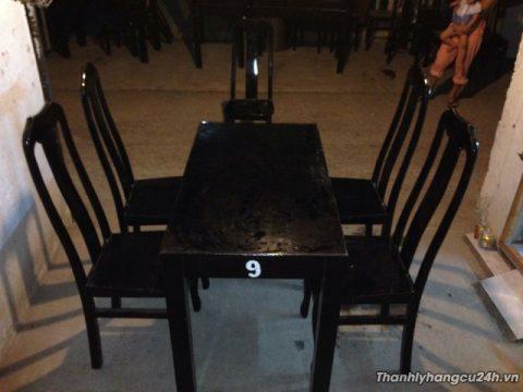 Thanh lý bàn ghế nhà hàng 0552 - Thanh lý bàn ghế nhà hàng 0552
