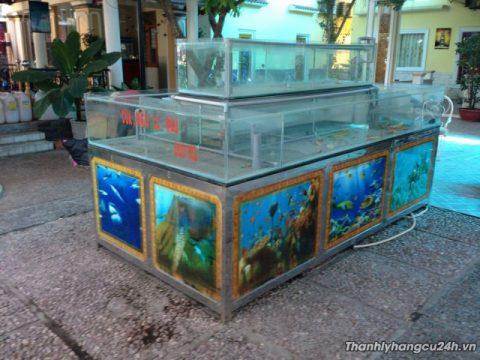 Thanh lý bể cá nhà hàng - Thanh lý bể cá nhà hàng