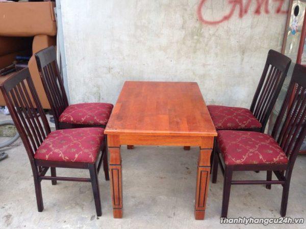 Thanh lý bàn ghế gỗ nhà hàng - Thanh lý bàn ghế gỗ nhà hàng