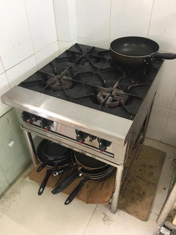 Bếp âu nhà hàng thanh lý giá rẻ - Bếp âu nhà hàng thanh lý giá rẻ