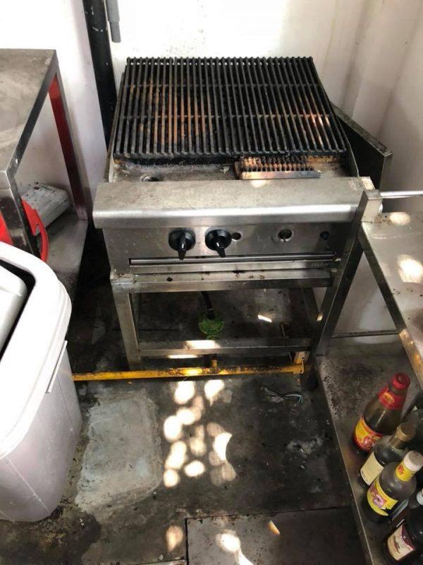 Thanh lý bếp nướng đá nhà hàng