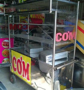 Thanh lý xe đẩy bán đồ ăn - Thanh lý xe đẩy bán đồ ăn