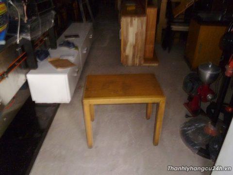 Thanh lý bàn gỗ vuông cafe - Thanh lý bàn gỗ vuông cafe