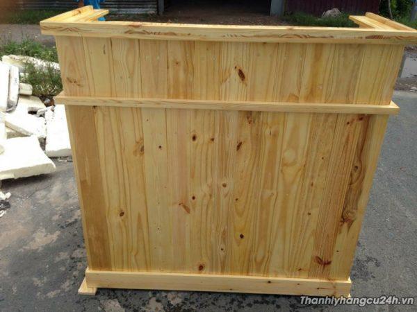 Thanh lý quầy gỗ thông - Thanh lý quầy gỗ thông