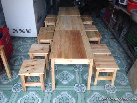 bàn ghế đôn cafe
